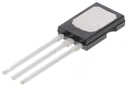 WeEn Semiconductors Co., Ltd BT134-600 4A, 600V, TRIAC, Gate Trigger 1.5V 70mA, 3-pin, Through Hole, SOT-82