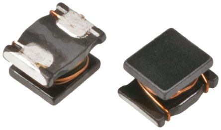 Murata , LQH43MN, 1812 (4532M) Wire-wound SMD Inductor with a Ferrite Core, 1 mH ±5% Wire-Wound 50mA Idc Q:40 (10)