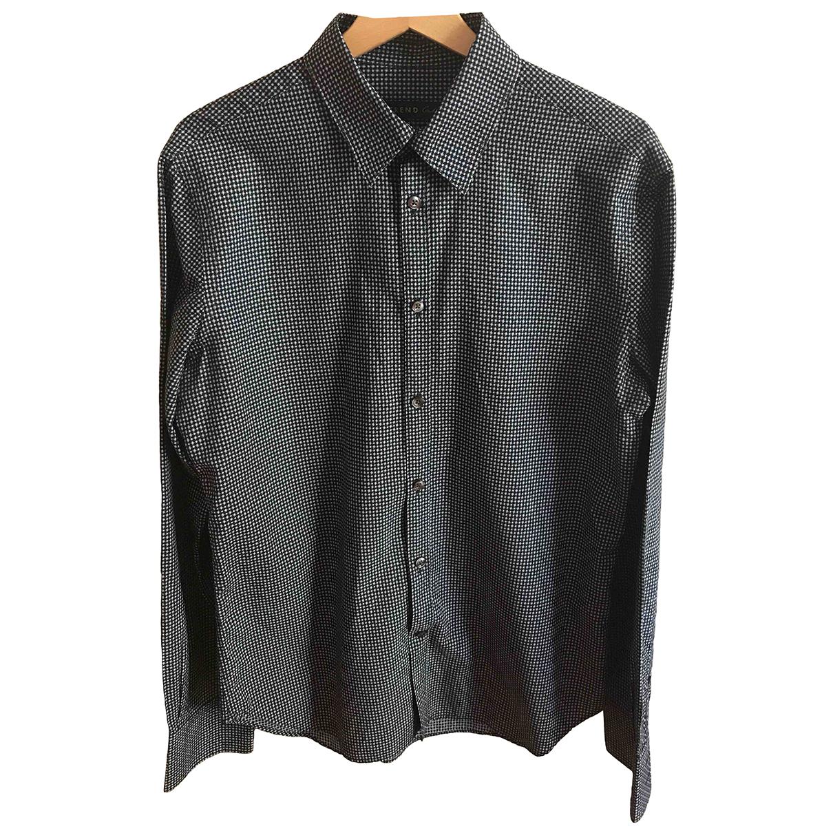 Corneliani - Chemises   pour homme en coton - multicolore