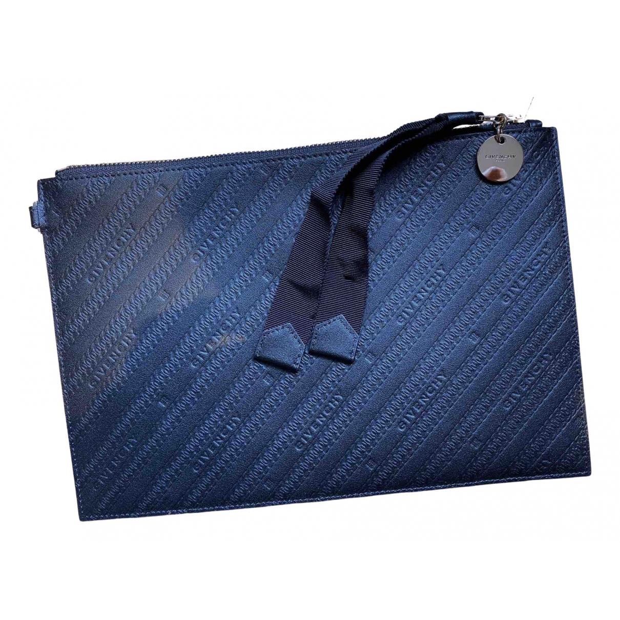 Givenchy - Petite maroquinerie   pour homme en cuir - noir