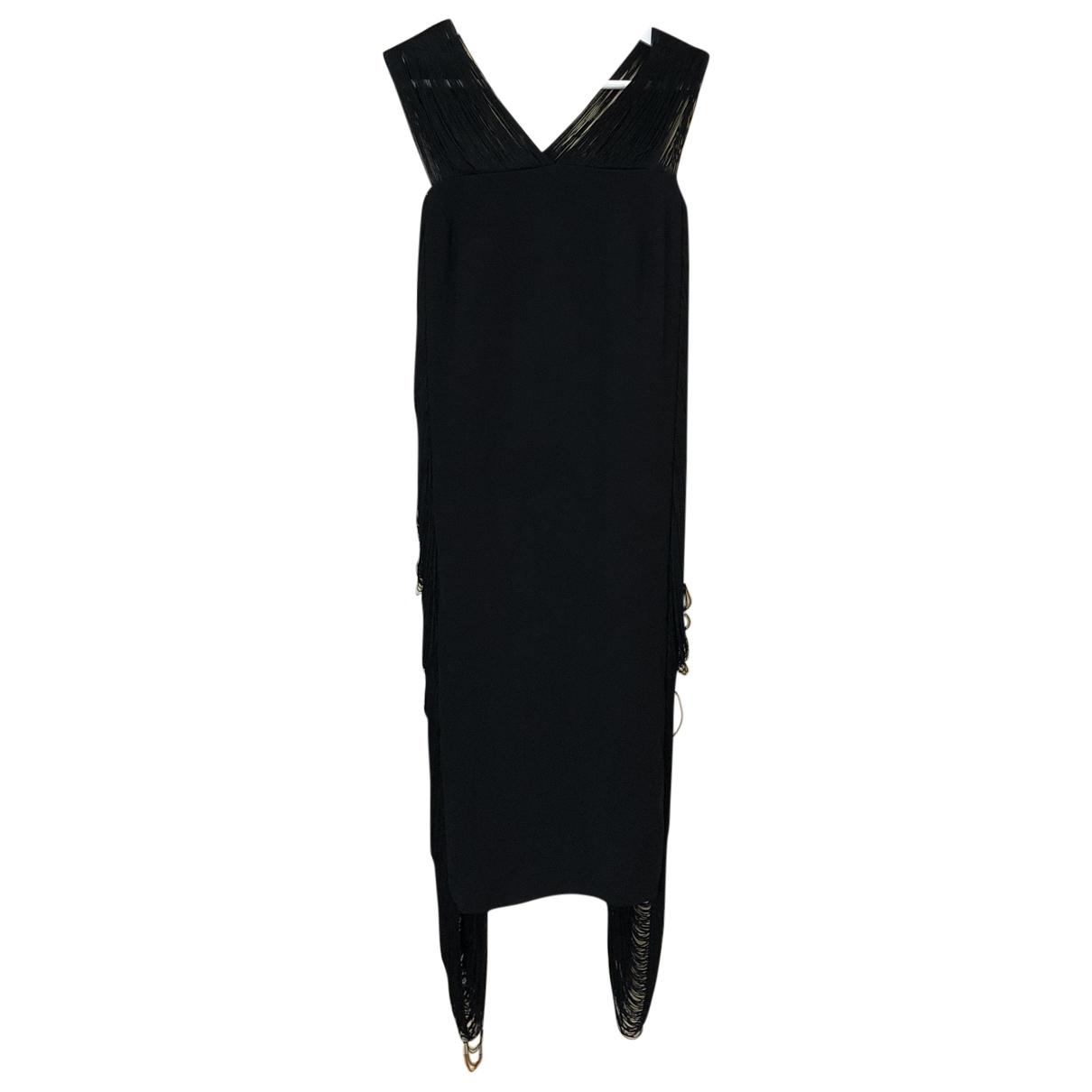Jil Sander \N Black Silk dress for Women 34 FR
