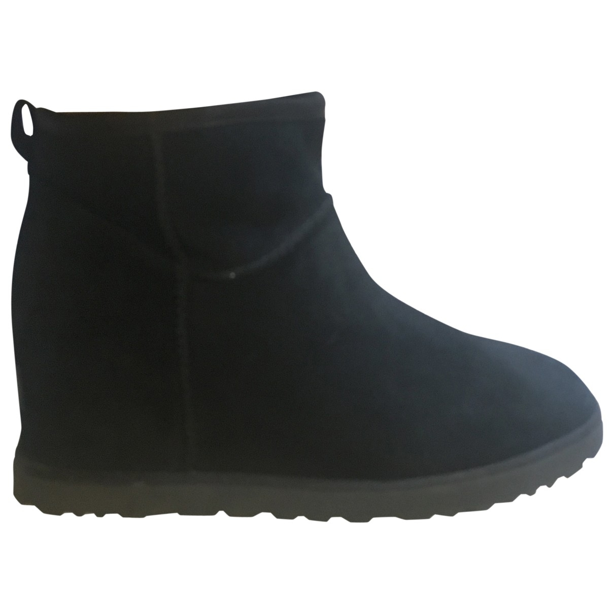 Ugg \N Black Suede Ankle boots for Women 40 EU