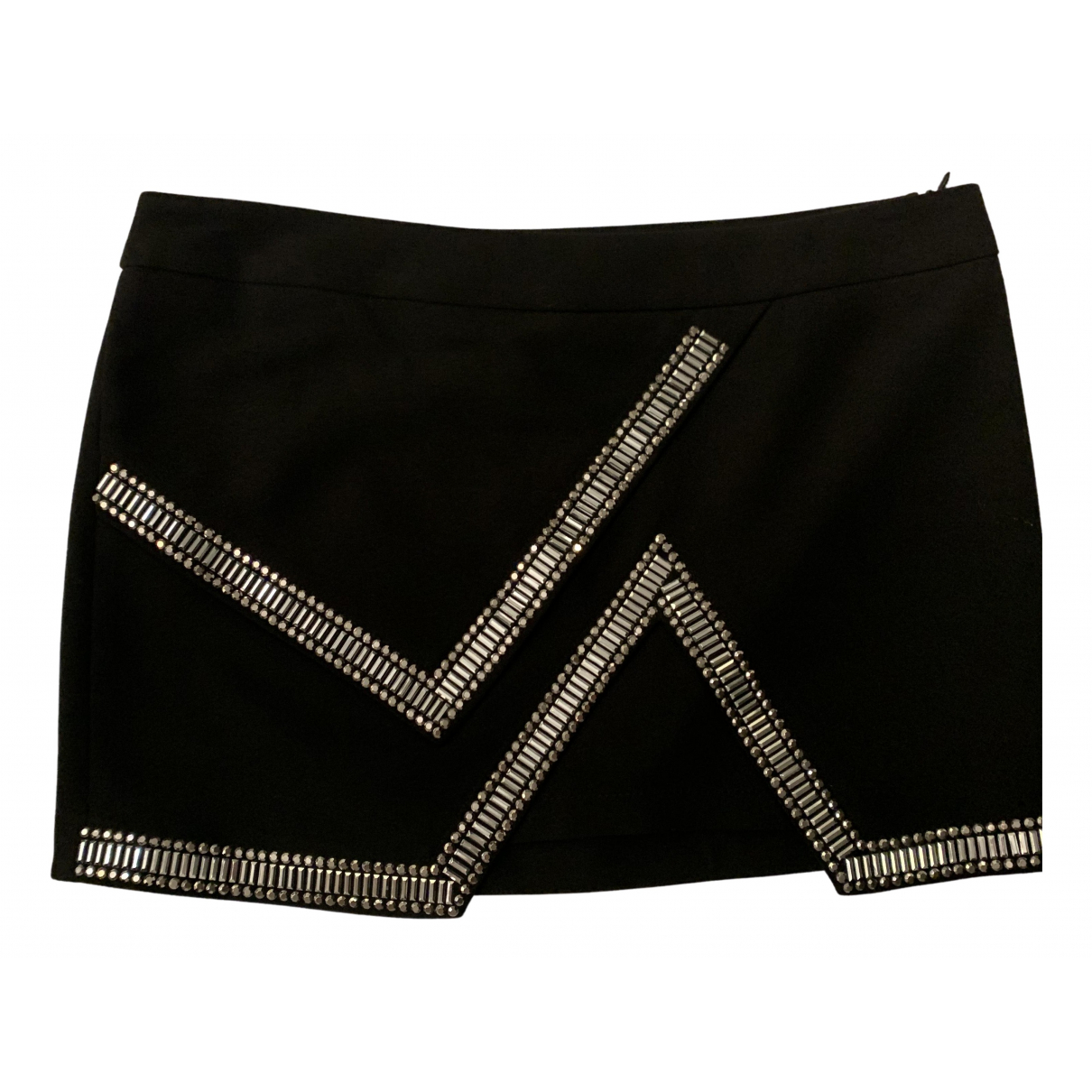 Non Signé / Unsigned N Black skirt for Women 42 IT
