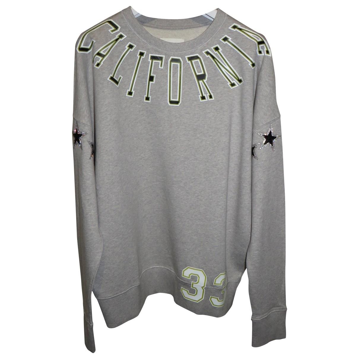 Faith Connexion \N Grey Cotton Knitwear & Sweatshirts for Men M International