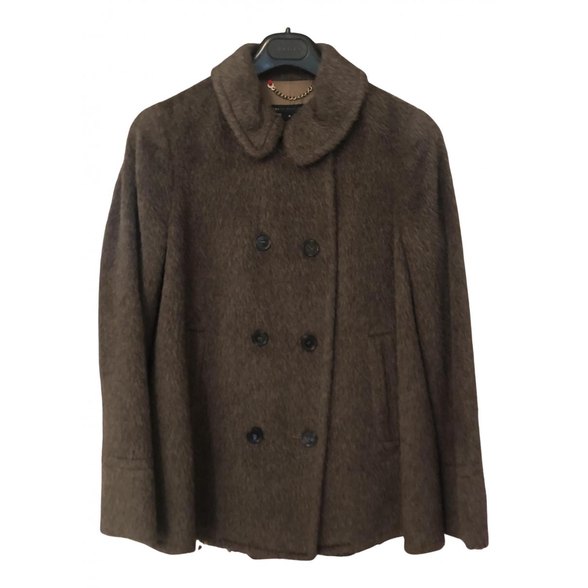 Marc By Marc Jacobs - Manteau   pour femme en laine - marron