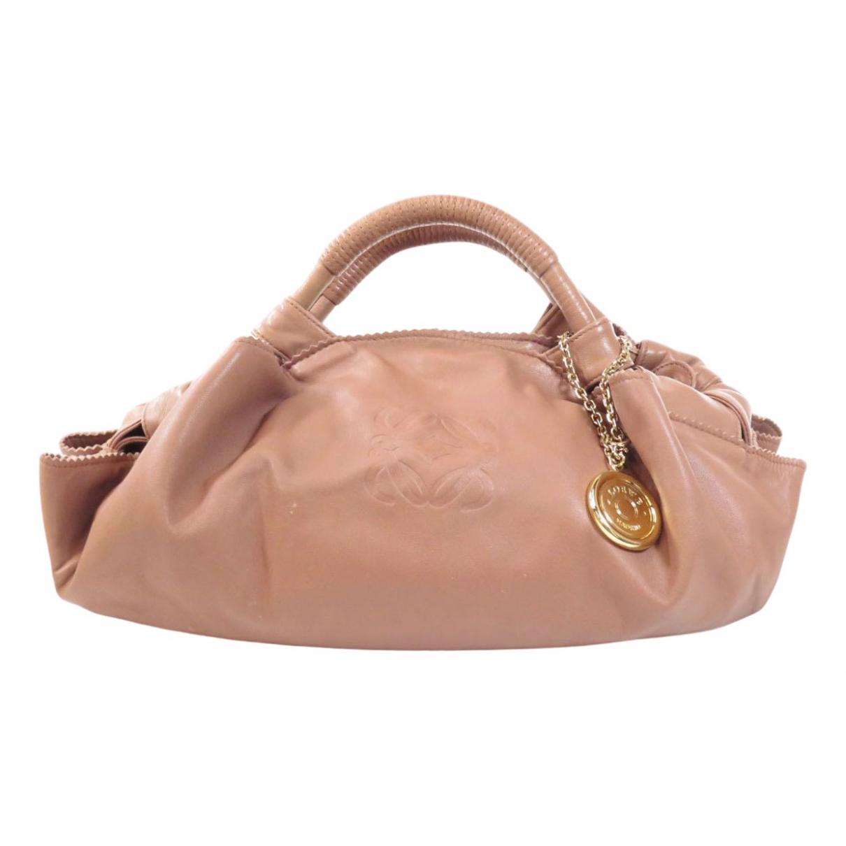 Loewe \N Handtasche in  Rosa Leder