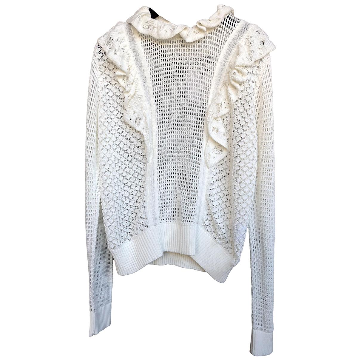 Red Valentino Garavani \N White Cotton Knitwear for Women L International