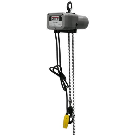Jet 1/8-Ton Electric Chain Hoist 1-Phase 20' Lift