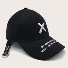 Maenner Baseball Hut mit Buchstaben Stickerei
