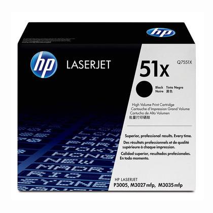 HP 51X Q7551X Original Black Toner Cartridge High Yield