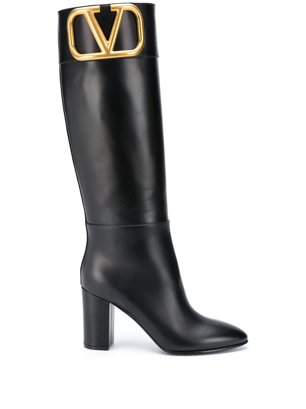 Vlogo Leather Boots