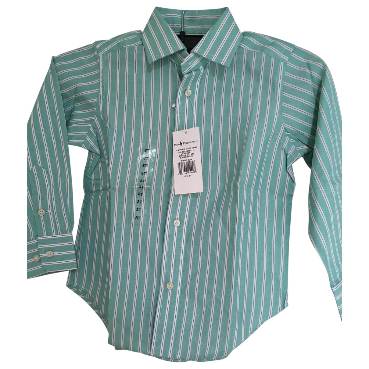 Polo Ralph Lauren \N Green Cotton  top for Kids 3 years - up to 98cm FR