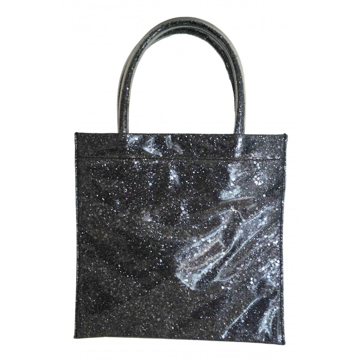 Miu Miu \N Handtasche in  Anthrazit Kunststoff