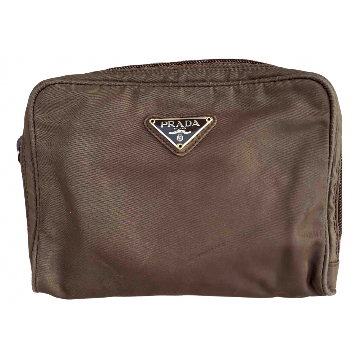 Prada \N Brown Cloth Travel bag for Women \N