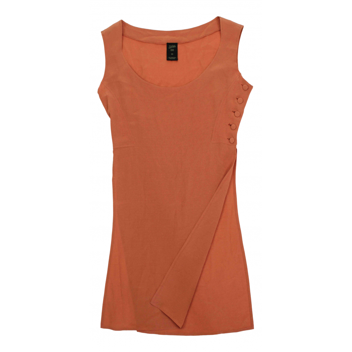 Jean Paul Gaultier \N Kleid in  Orange Viskose