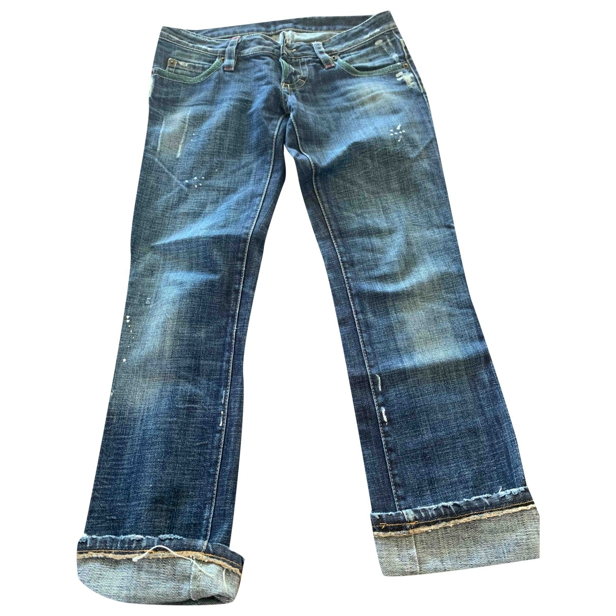 Dsquared2 - Jean   pour femme en denim - bleu