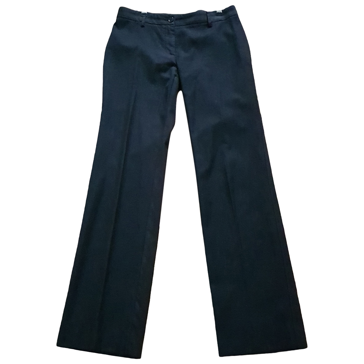 Dolce & Gabbana \N Grey Wool Trousers for Women S International