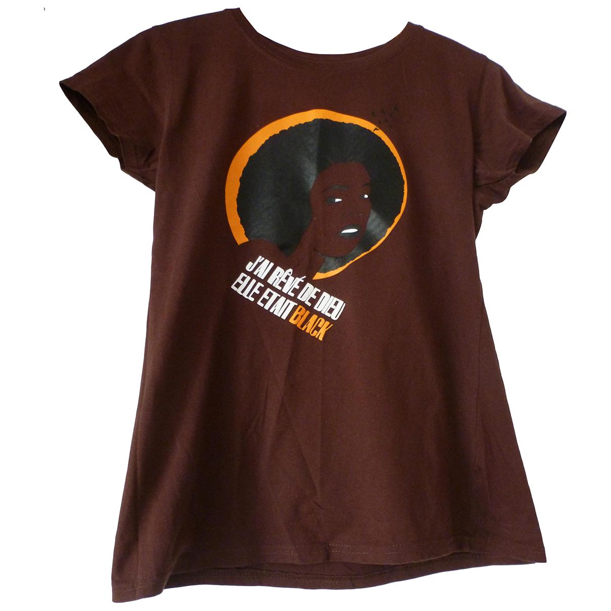 - Top   pour femme en coton - marron