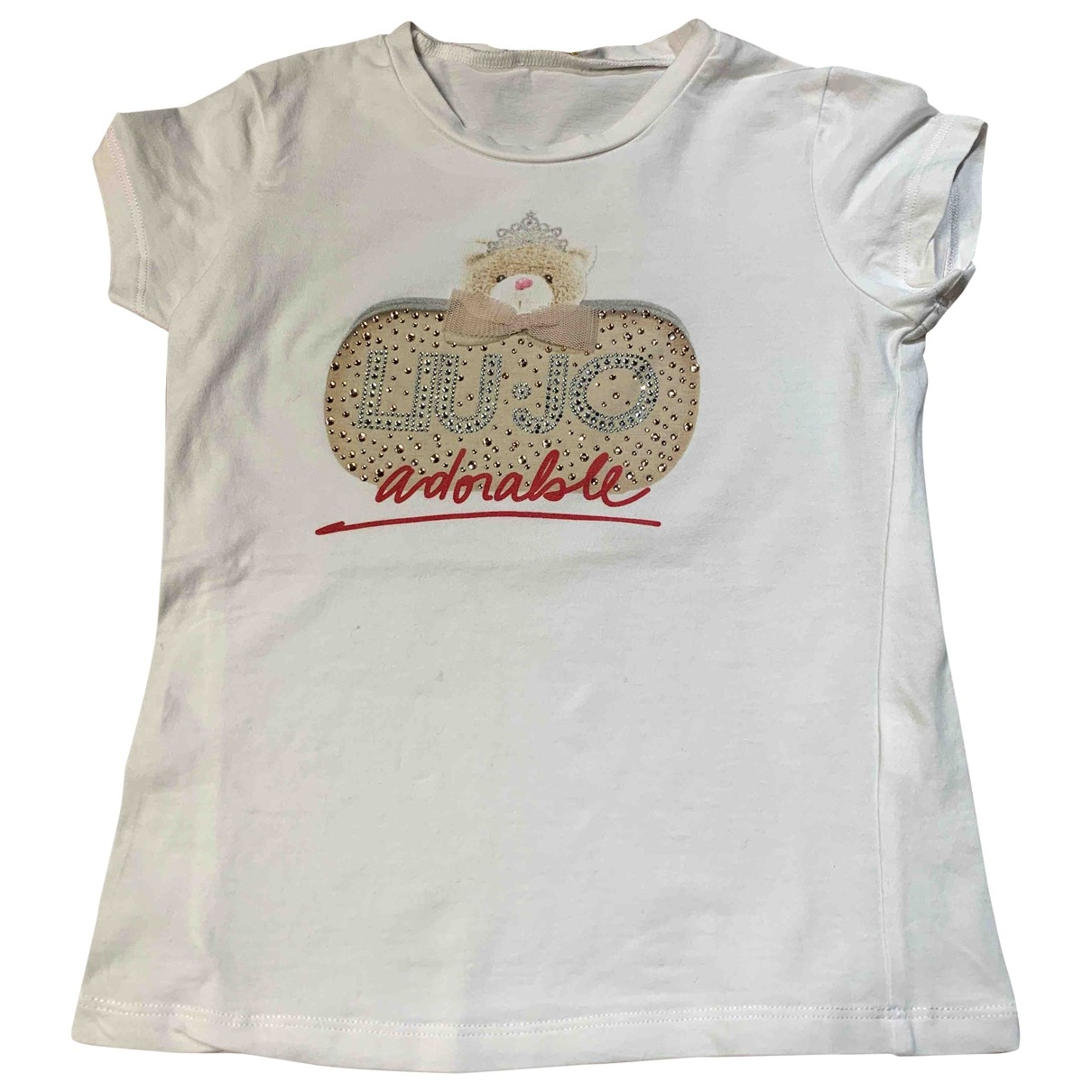 Liu.jo \N White Cotton  top for Kids 4 years - up to 102cm FR
