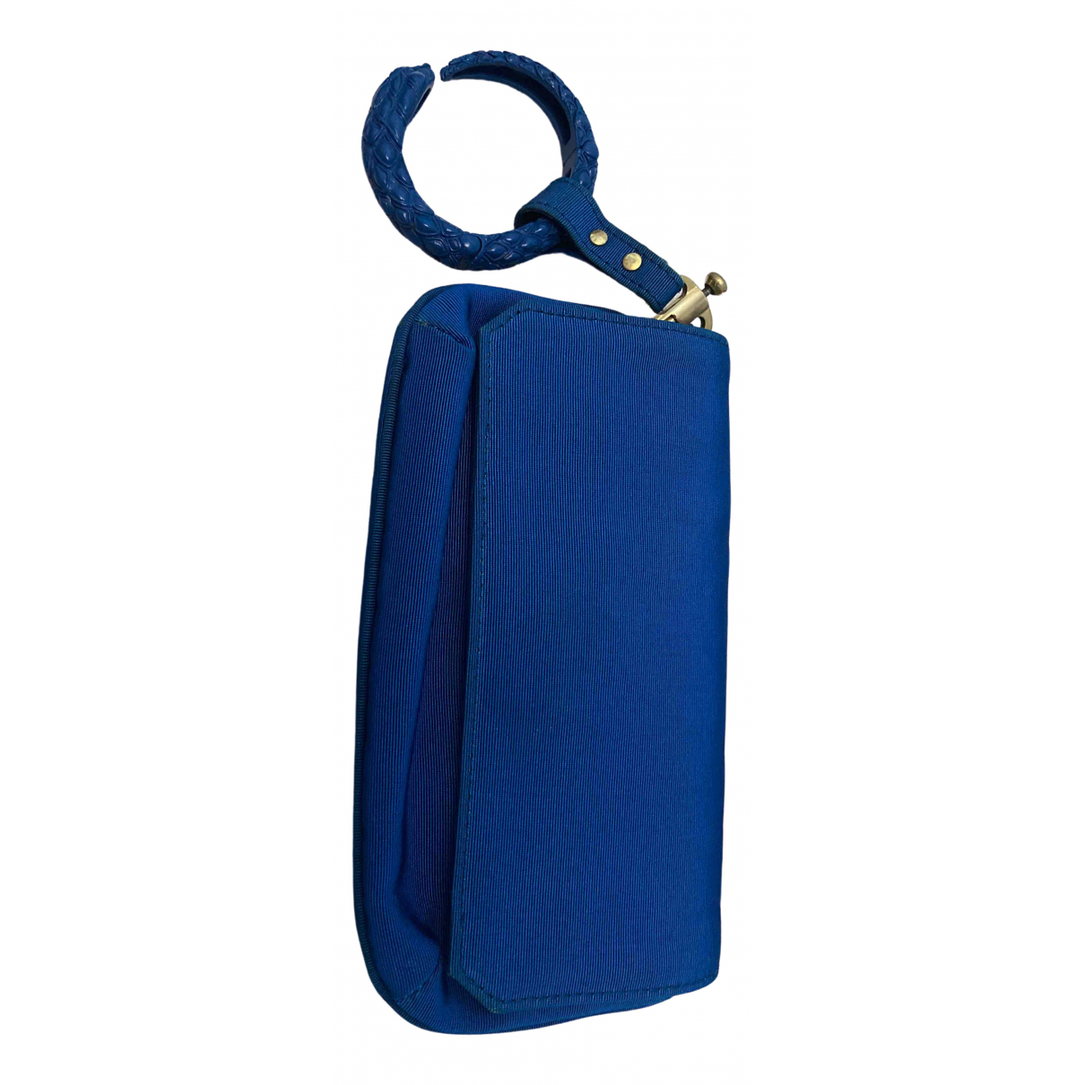 Roberto Cavalli \N Blue Silk handbag for Women \N
