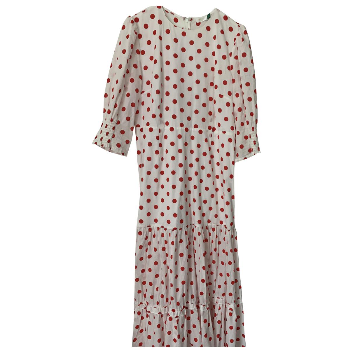 Rixo N Red Cotton dress for Women 16 UK