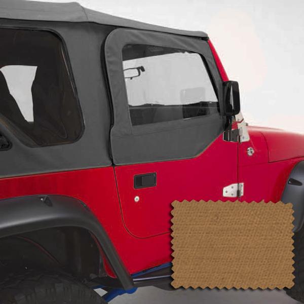 Rugged Ridge 13714.37 Door Kit, Upper, Spice; 97-06 Jeep Wrangler TJ Jeep Wrangler 1997-2006