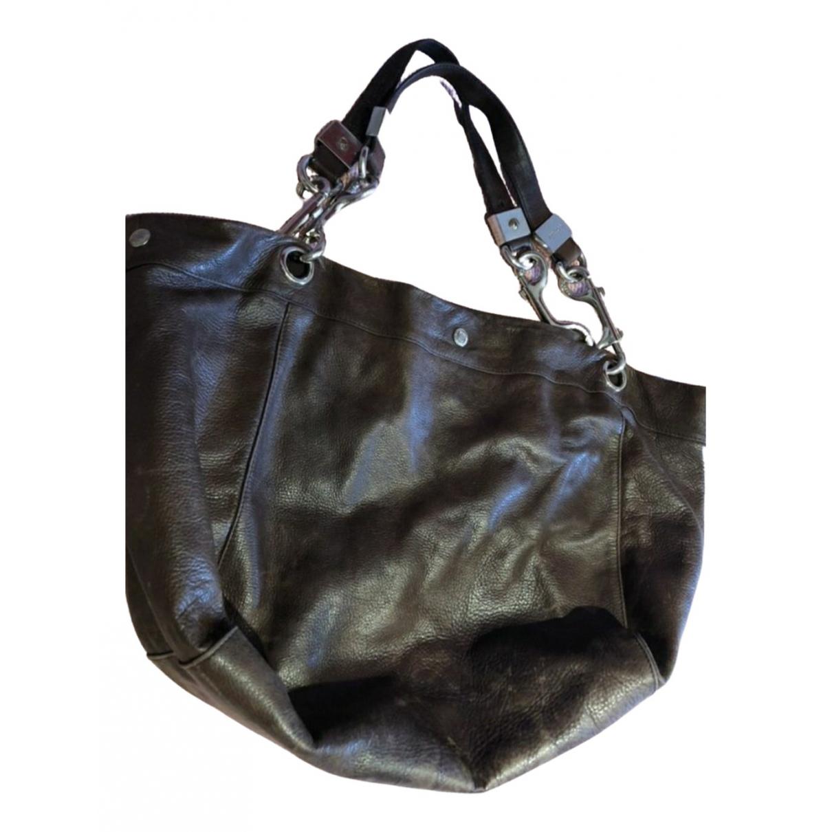 Jimmy Choo \N Brown Leather handbag for Women \N