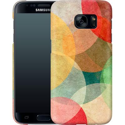 Samsung Galaxy S7 Smartphone Huelle - The Round Ones von Georgiana Teseleanu