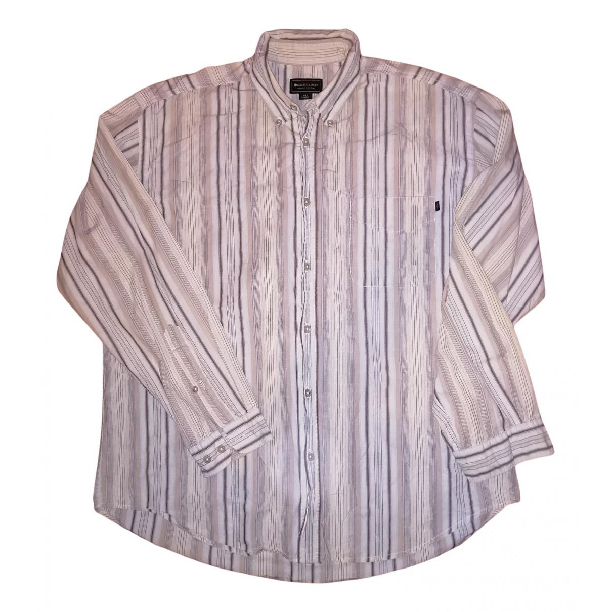 Non Signe / Unsigned \N Hemden in  Beige Baumwolle