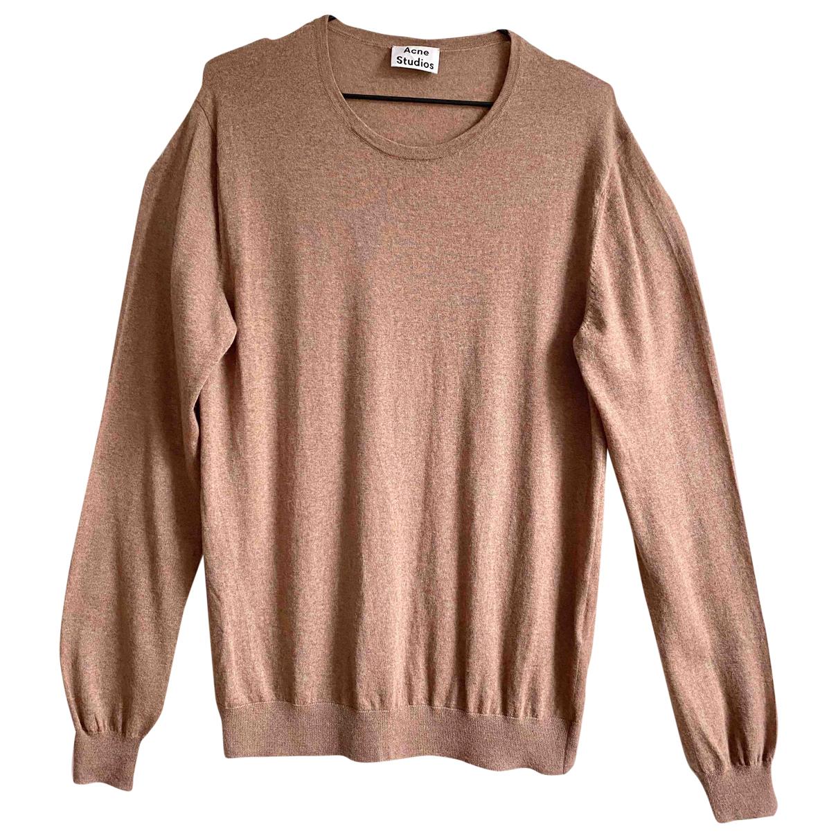 Acne Studios \N Beige Wool Knitwear & Sweatshirts for Men M International