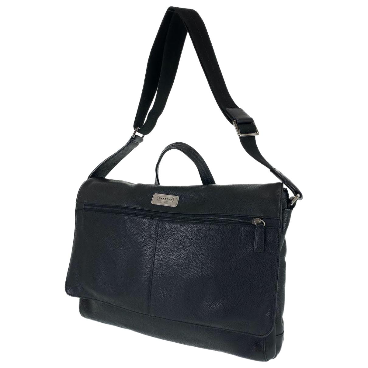 Coach N Leather bag for Men N
