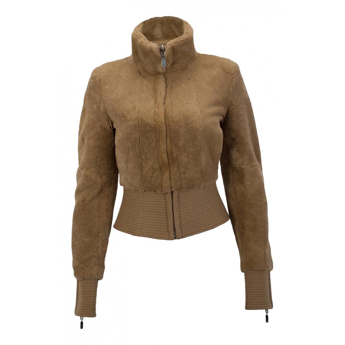 Gianfranco Ferré N Camel Wool jacket for Women 36 IT
