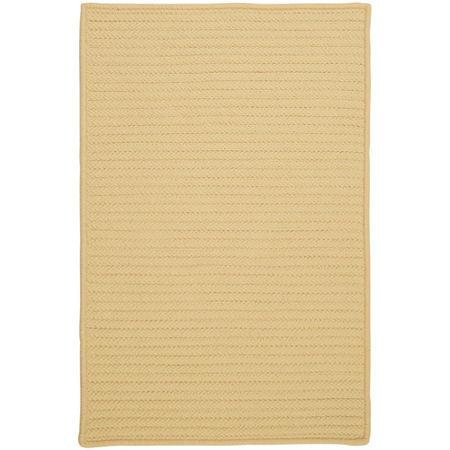 Colonial Mills Nantucket Reversible Braided Indoor/Outdoor Rectangular Rug, One Size , Yellow