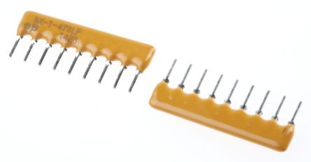 Bourns Bussed Resistor Network 47kΩ ±2% 8 Resistors, 1.13W Total, SIP package 4600X Through Hole (25)