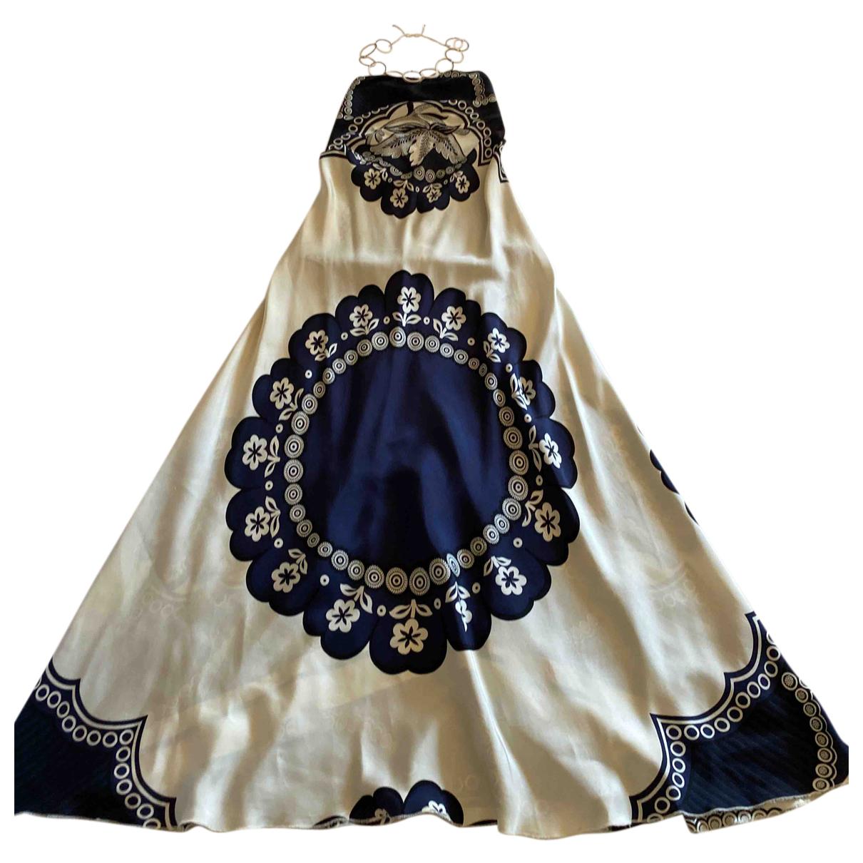 Coast N Blue Silk dress for Women 40 IT