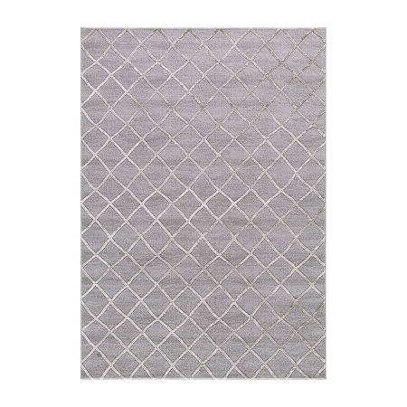 Concord Global Trading Thema Collection Teo Rug, One Size , Beige