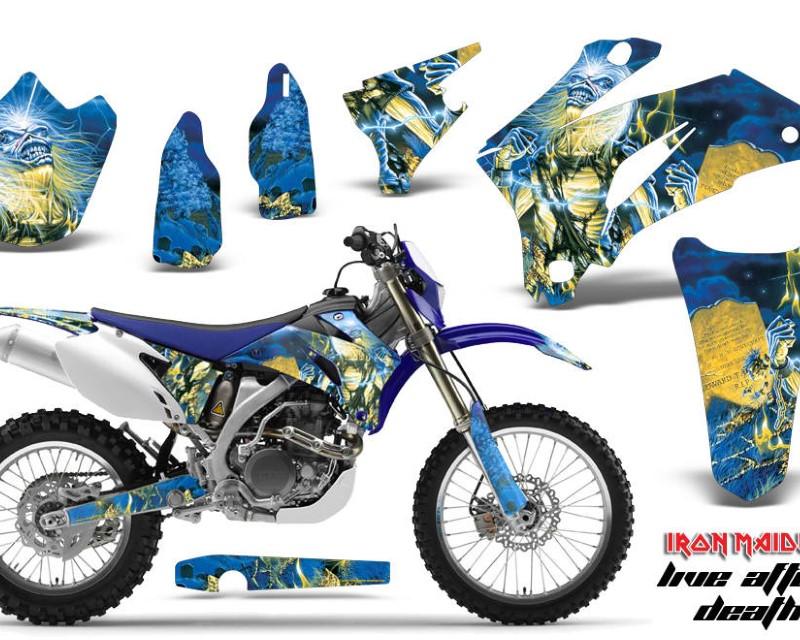AMR Racing Dirt Bike Graphics Kit Decal Wrap For Yamaha WR250F 2007-2014 WR450F 2007-2011áIM LAD