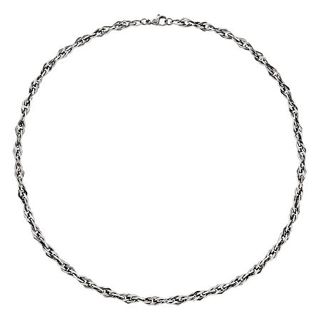 Mens Stainless Steel Chain Necklace, One Size , No Color Family