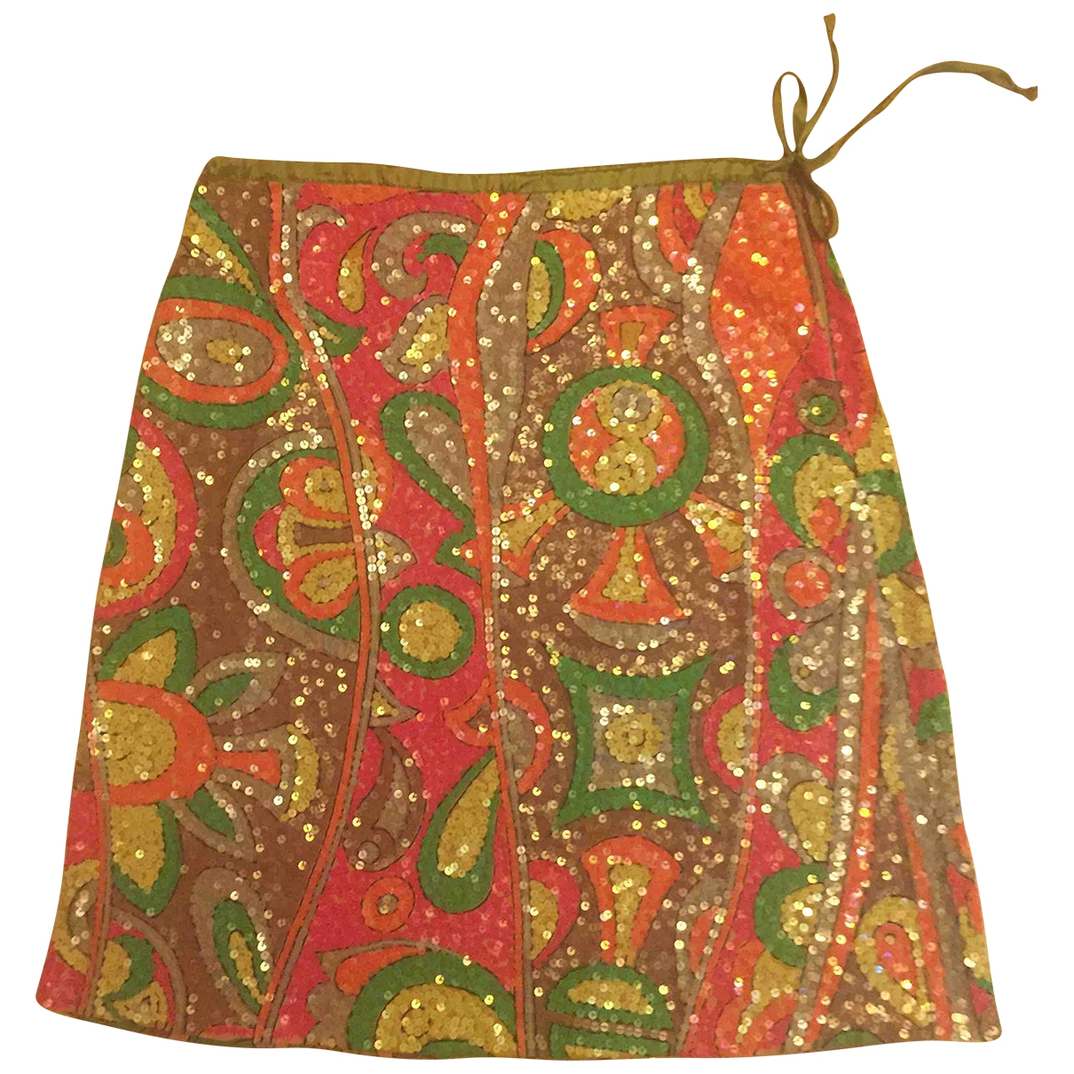 Mini falda de Con lentejuelas Maliparmi