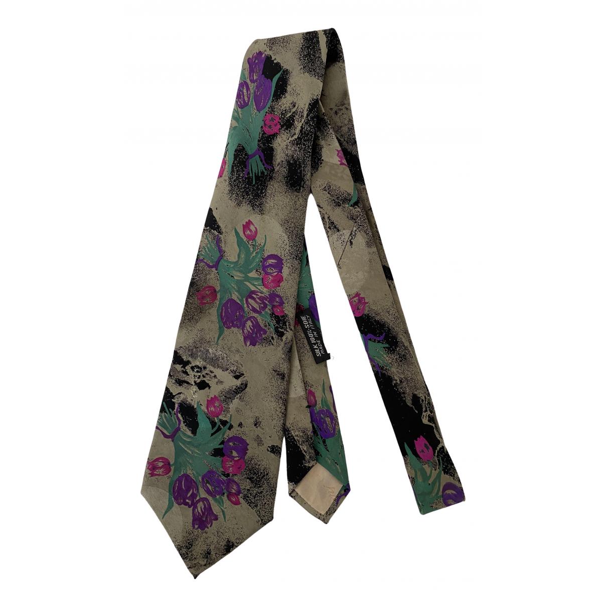 Brioni - Cravates   pour homme en soie - multicolore