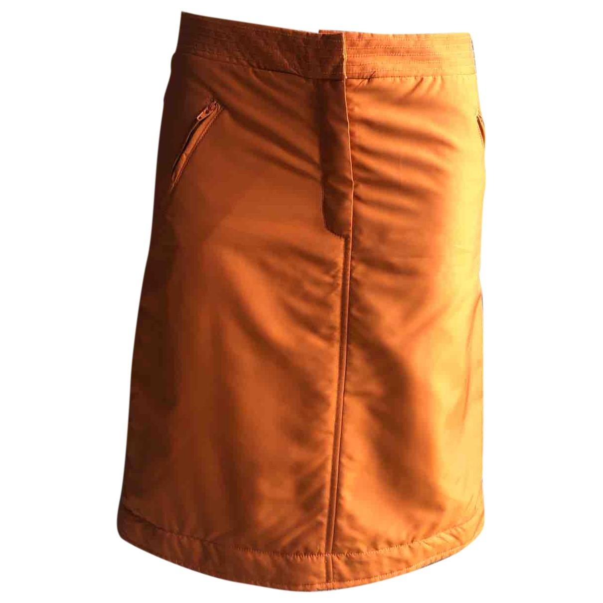 Alberta Ferretti \N Rocke in  Orange Polyester