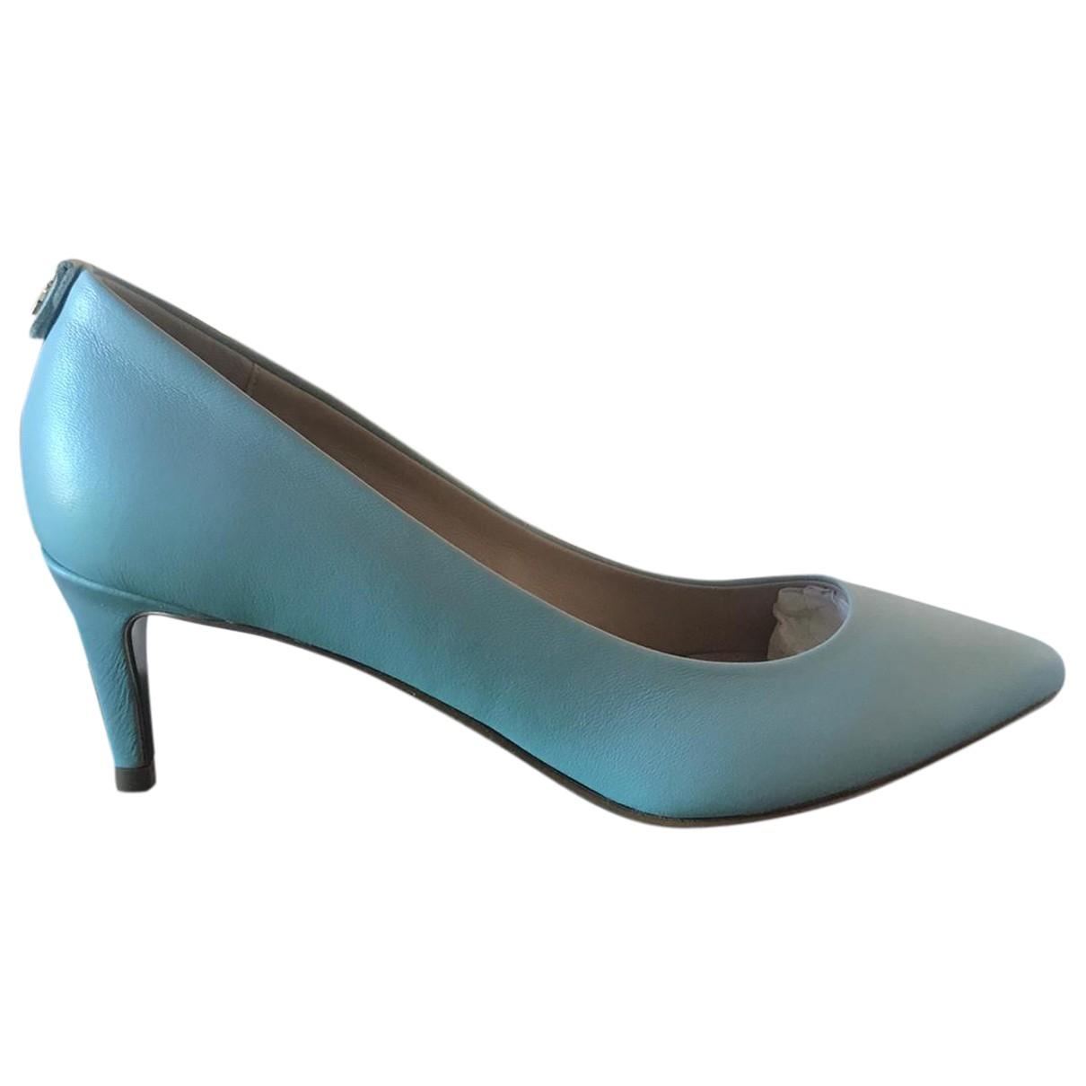 Patrizia Pepe \N Leather Heels for Women 38 IT