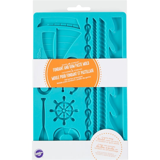 Wilton® Nautical Fondant And Gum Paste Mold | Michaels®