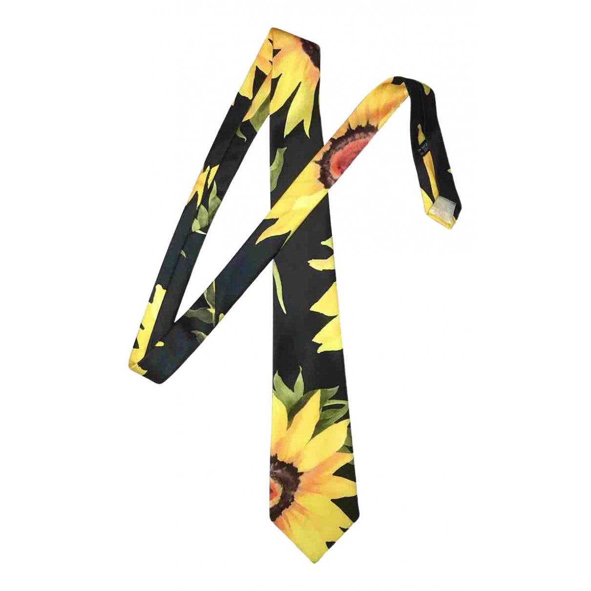 Yohji Yamamoto - Cravates   pour homme - noir