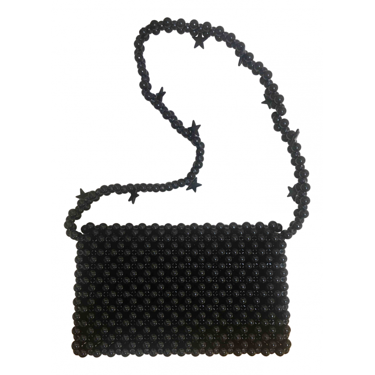 Non Signé / Unsigned \N Black handbag for Women \N