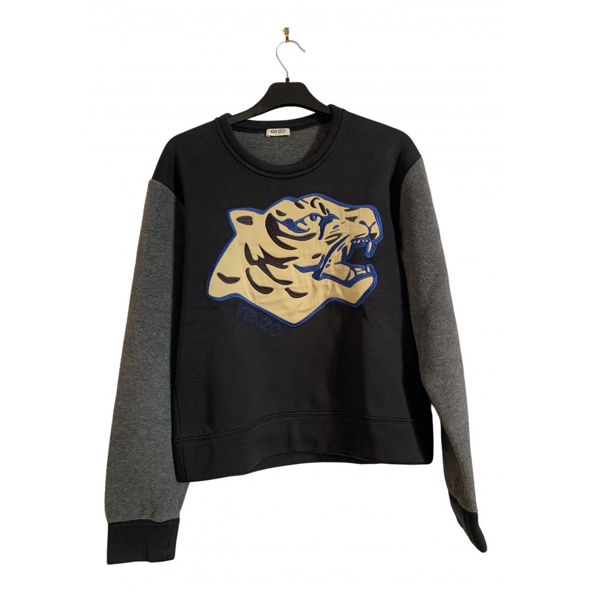 Kenzo \N Pullover.Westen.Sweatshirts  in  Schwarz Polyester
