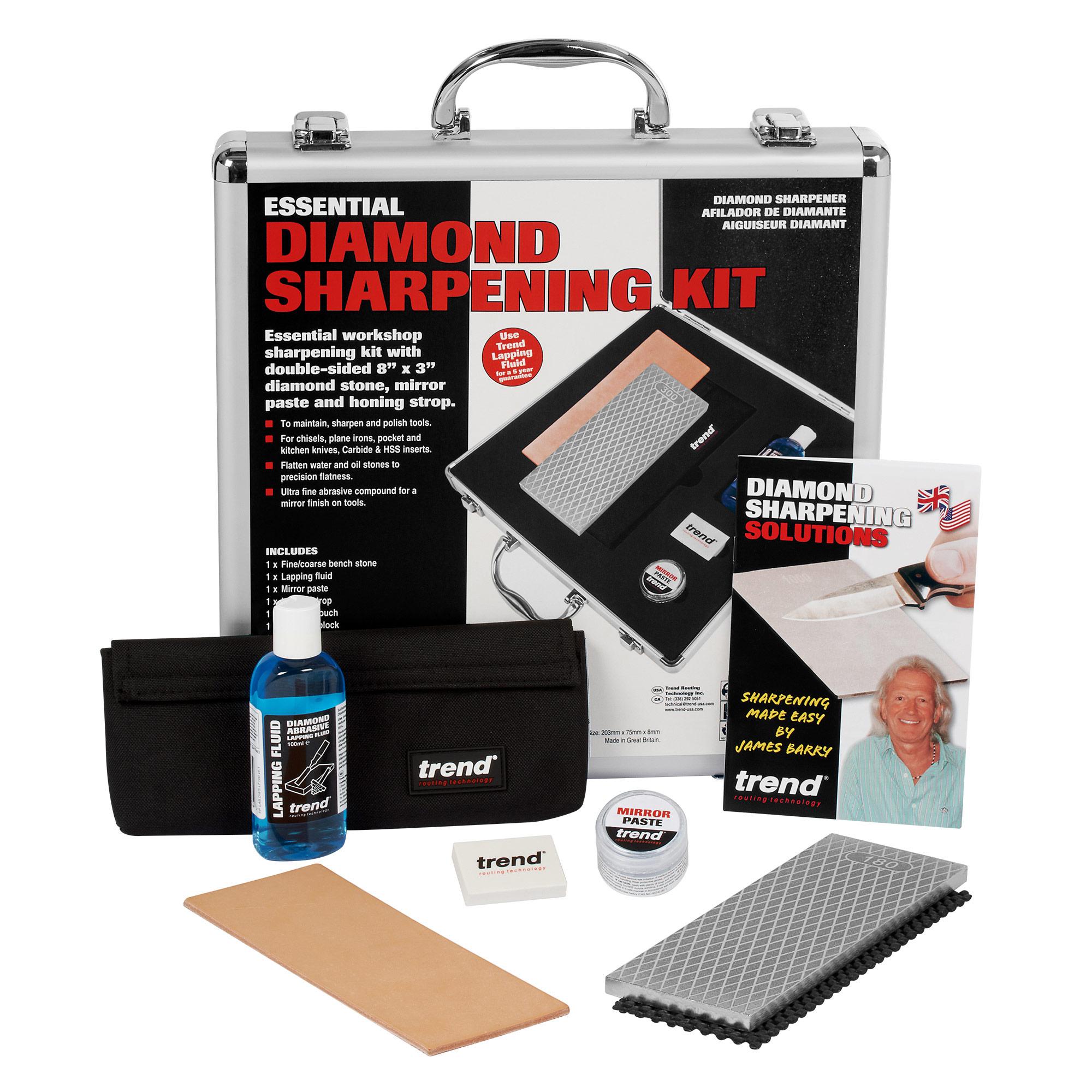 Essential Diamond Sharpening Kit