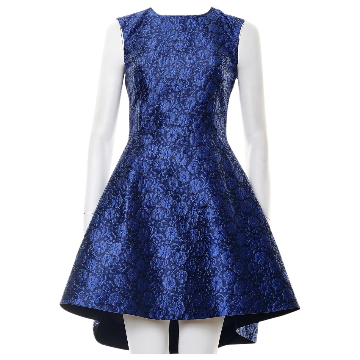 Dior - Robe   pour femme en soie - bleu