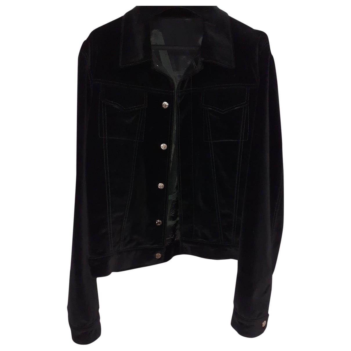Yves Saint Laurent - Vestes.Blousons   pour homme en coton - noir