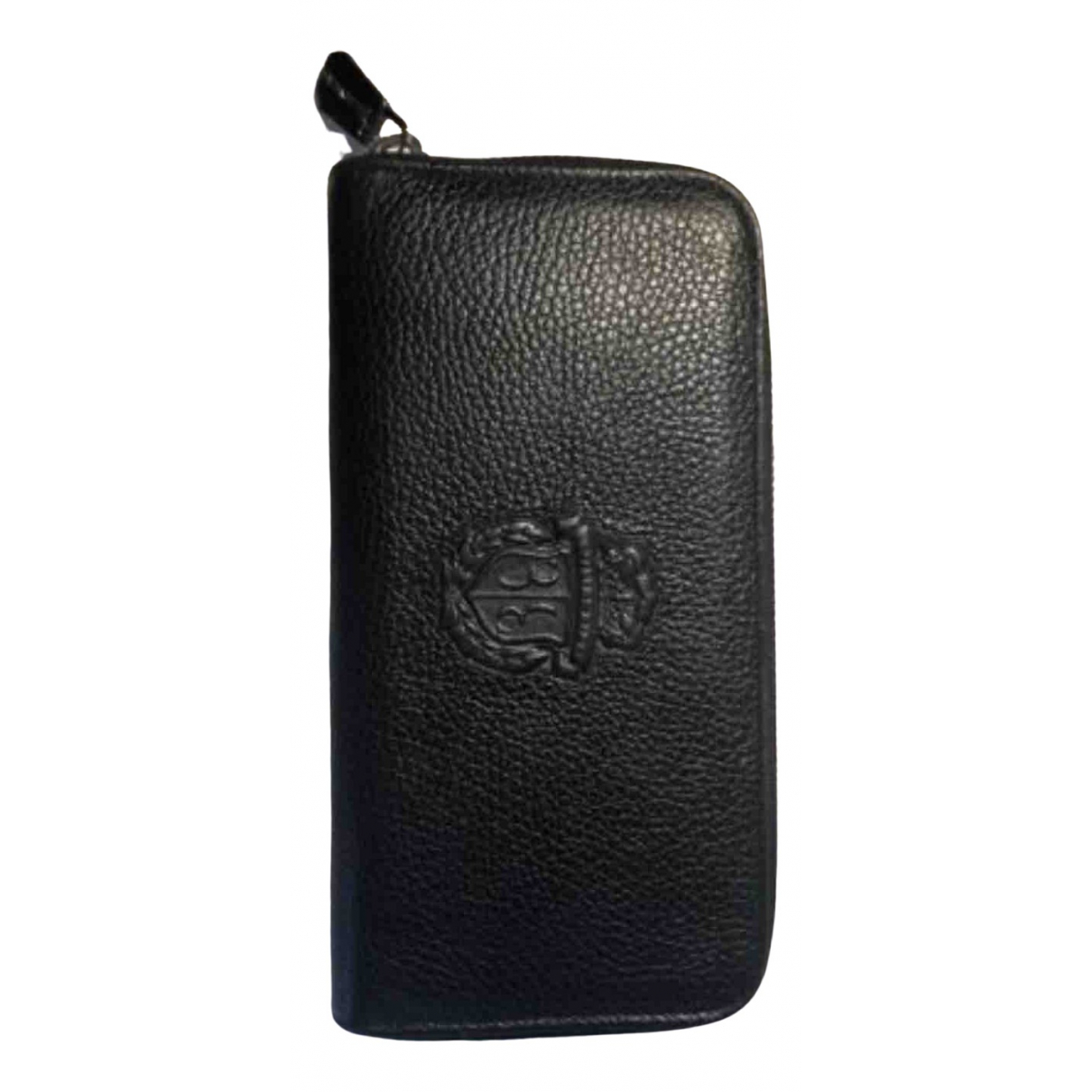 Non Signé / Unsigned \N Black Leather Purses, wallet & cases for Women \N